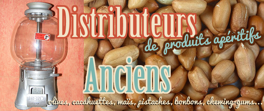Distributeurs de bar anciens - Paris
