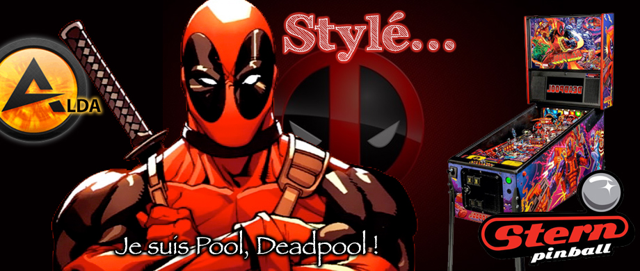 Avis flipper Stern Deadpool