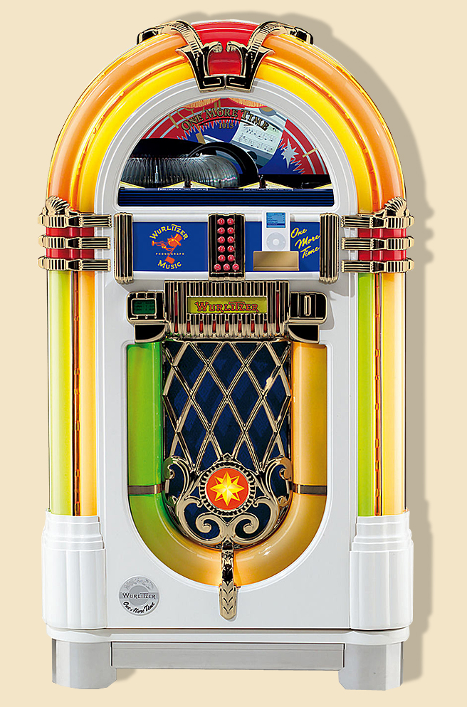 Jukeboxe Wurlitzer One More Time Ipod chez Alda.fr